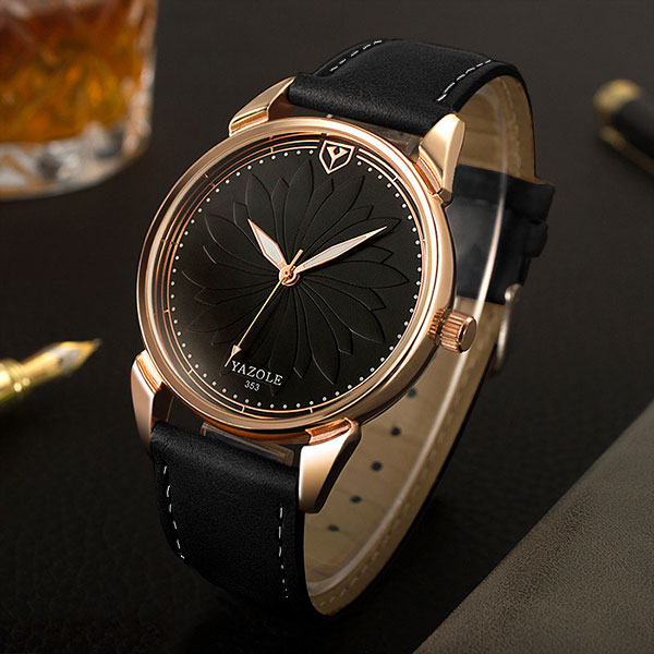 YAZOLE 2018 Simple Dress Quartz Watch Women Watches Ladies Famous Brand Wrist Watch Female Clock Montre Femme Relogio Feminino sanda gold diamond quartz watch women ladies famous brand luxury golden wrist watch female clock montre femme relogio feminino