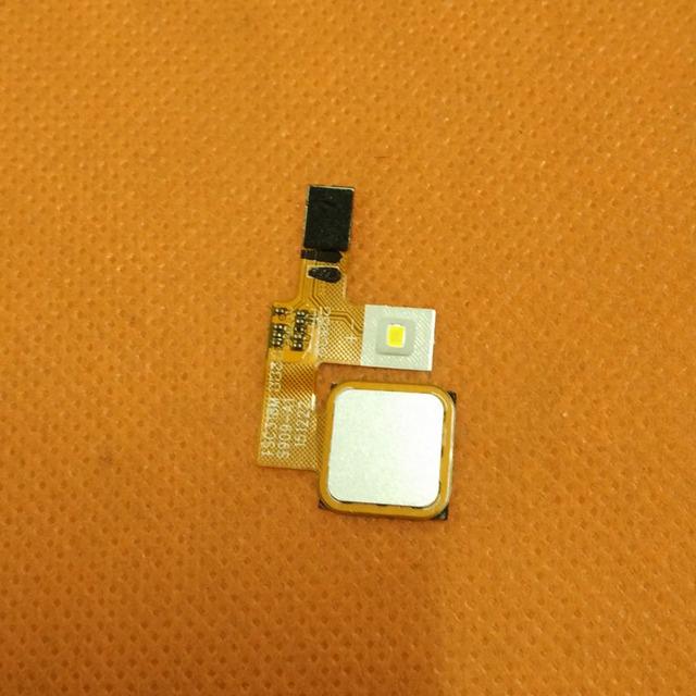 Botão do sensor de Impressão Digital Para Elephone originais S3 MT6753 Octa Core 5.2 Polegada FHD frete grátis