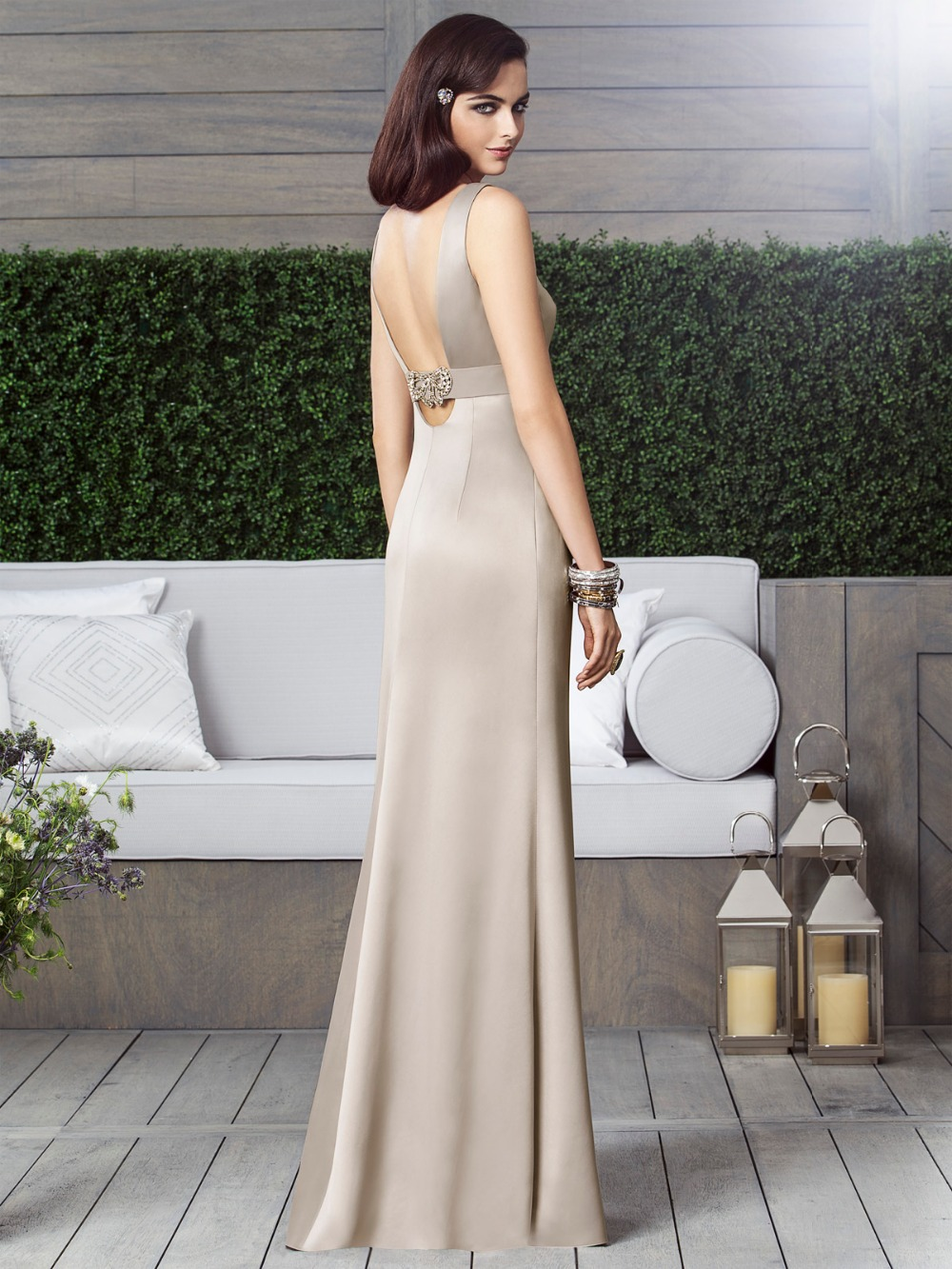 Glamorous nude bridesmaid dresses sexy low back women formal dress glamorous nude bridesmaid dresses sexy low back women formal dress for wedding custom size brautjungfernkleider 2015 xhb19 in bridesmaid dresses from ombrellifo Choice Image