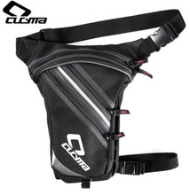 CUCYMA Motorcycle Bag Waterproof Oxford Waist Moto Drop Leg Bicycle Fanny Pack Belt Motorbike