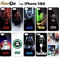 Exclusivo! star wars skywalker darth maul legal retrato arte impressão capa para iphone 6 s 6 5S 5 caso starwars