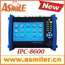 good quality touch screen IP camera tester IPC8600 7″ multi-function cctv tester from asmile