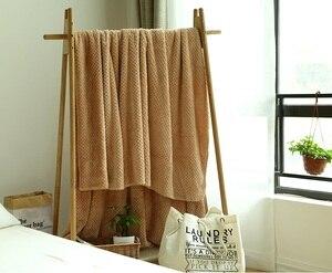 Image 2 - CAMMITEVER, 5 tamaños 100%, suave manta de cama Premium, cómodas mantas, cama cálida, sofá, camas cómodas
