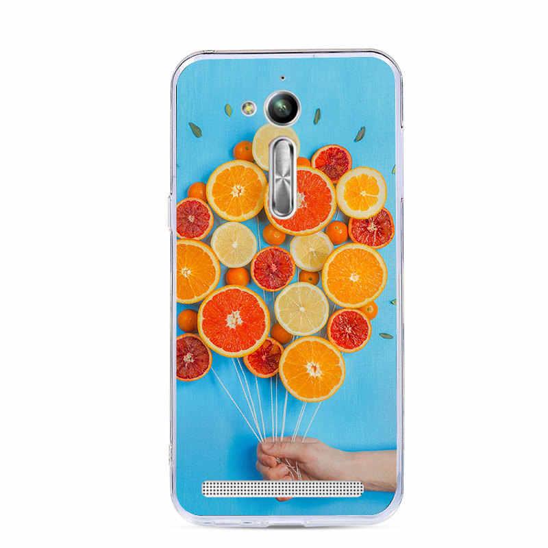 Чехол для телефона Lamocase из мягкого ТПУ для ASUS ZB500KL X00AD Zenfone Go ZB500 ZB 500 KL 500KL ZB500KG чехлы с принтом животных и фруктов