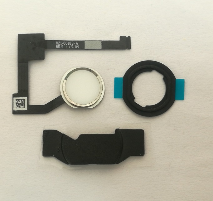 Delightful Colors And Exquisite Workmanship Candid Home Button Flex Cable Assembly Novel Designs Home Key Rubber Gasket And Spacer Holder For Ipad 6 Air 2 A1566 A1567 With Tracking Famous For Selected Materials