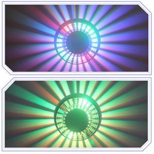 Image 4 - Приглушаемая светодиодная настенная лампа, светильник с 24 клавишами и пультом дистанционного управления, комнатное декоративное освещение, современные лампы, 7 цветов