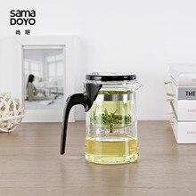 [GRANDEZA] Samadoyo E-01 High Grade Gongfu Tetera y Taza 500 ml 16.9 oz art tea cup glass gongfu tetera de cristal de Diseño en tokio