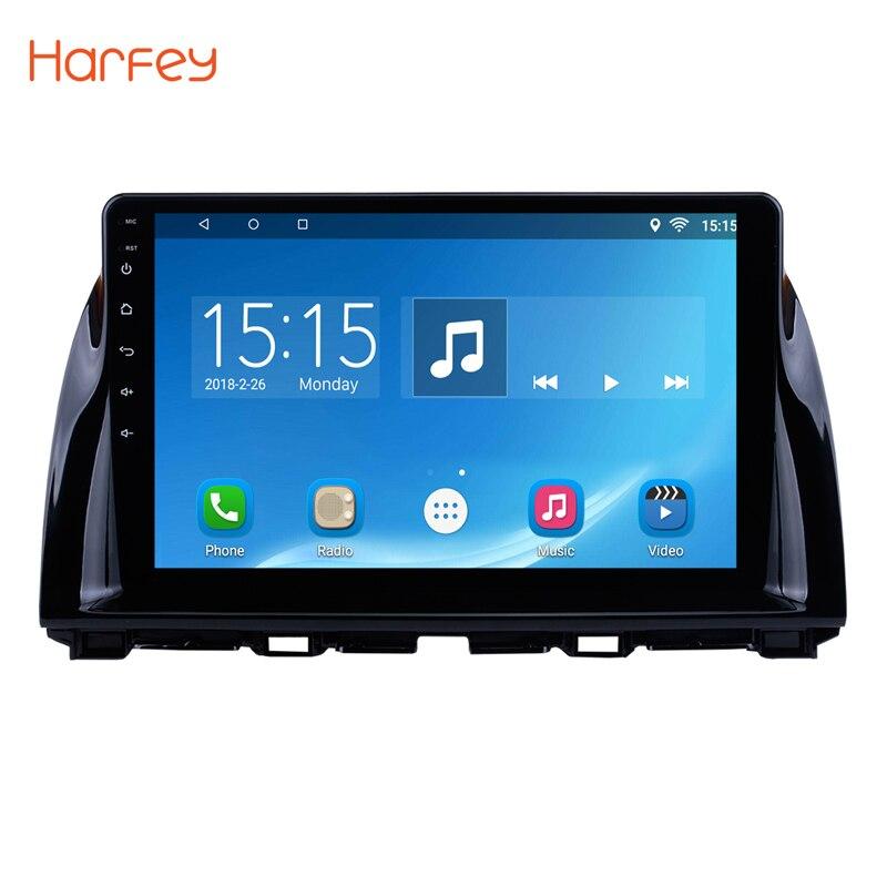Harfey Car Radio For 2012 2013 2014 2015 Mazda CX 5 Android 8.1/7.1 10.1 Inch WIFI Bluetooth GPS Navigation Multimedia Player