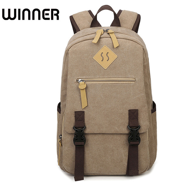 15 6 Inch Laptop Backpack Men Vintage Bookbags College Student Bookbag School Bag For S Boys