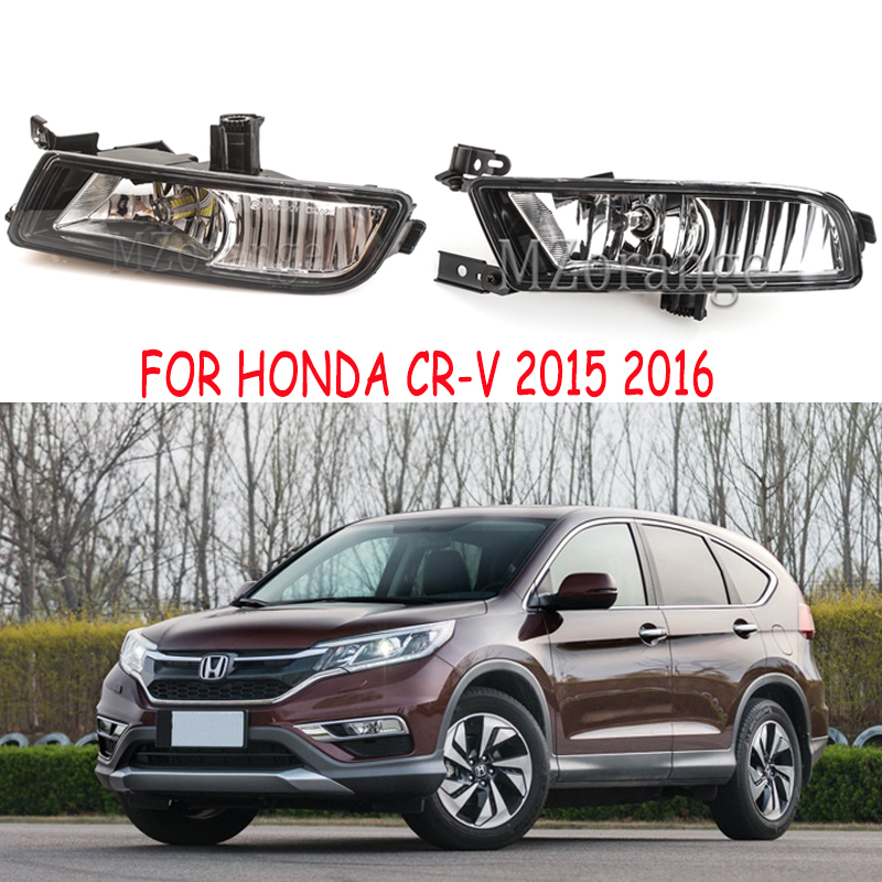 Halogen LED Front Fog Light Lamp UK Version For Honda CRV CR V 2015 2016 Front Bumper Light 33950 TFC H01/33900 TFC H01