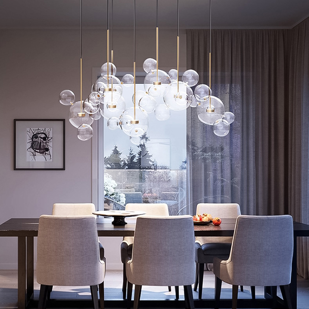 LED Nordic Iron Glass Gold White Mickey Mouse Suspension Luminaire Lampen Pendant Lights.Pendant Lamp.Pendant light For Foyer|Pendant Lights| |  -