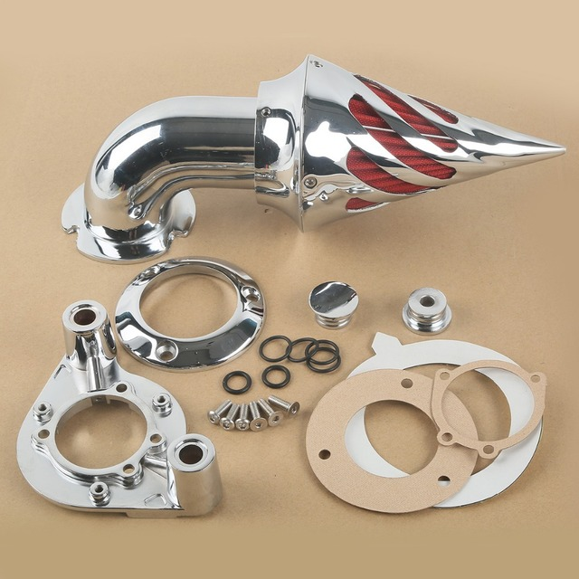 Chrome Filtro Aire Para Harley Davidson Sportster XL 91-06