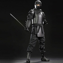 POPTOYS 1/6 Scale Shadow Alliance Leader Ninja Master Male Action Figure Body Model Toys Hobby Collections