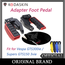 KODASKIN Scooter Accessories for Vespa GTS300ie Supers GTS150 3vie Adapter Foot Pedal Passenger Extension Extended