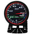 Free Shipping: 60mm Defi CR White/Red Light Oil Press Meter Racing Car Meter Auto Gauge 1000KPa With Adjustable Peak Black Dial