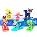 6 CM Cão de Patrulha Canina Russo Brinquedos Anime Figuras de Ação Boneca Filhote de cachorro de Brinquedo Do Carro Patrulha Canina Patrulla Juguetes