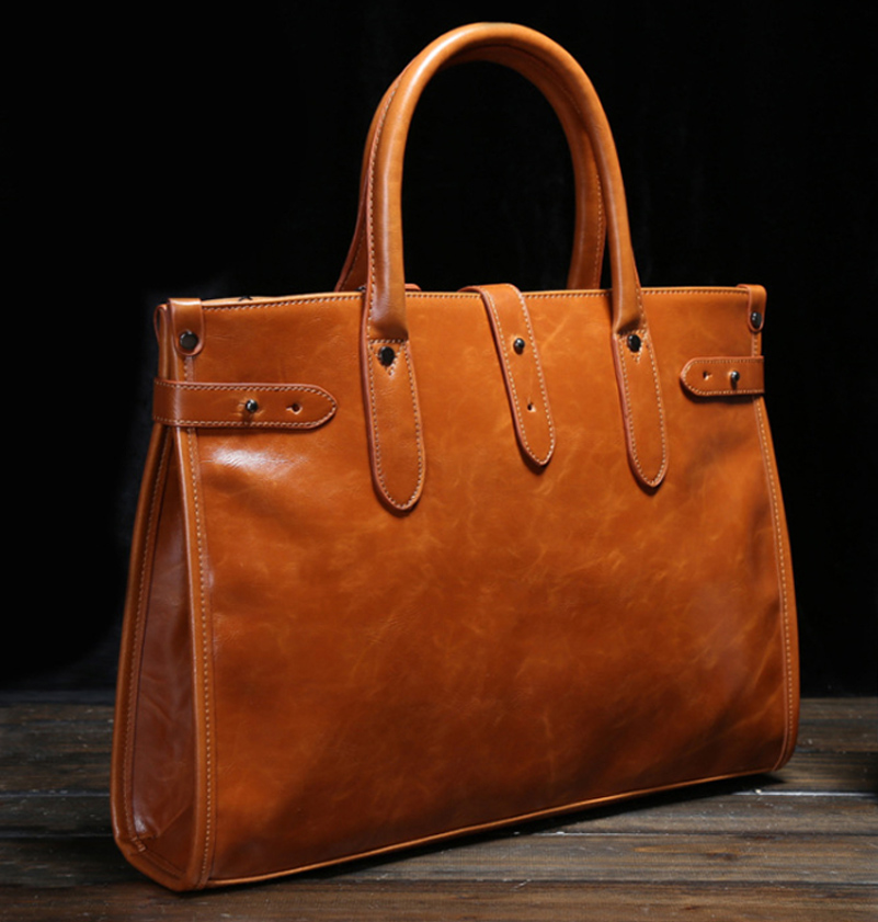 14 Inch PU Solid Laptop Solid Notebook Tablet Bag Bags Case Messenger Shoulder Briefcase for Men Women Business Casual
