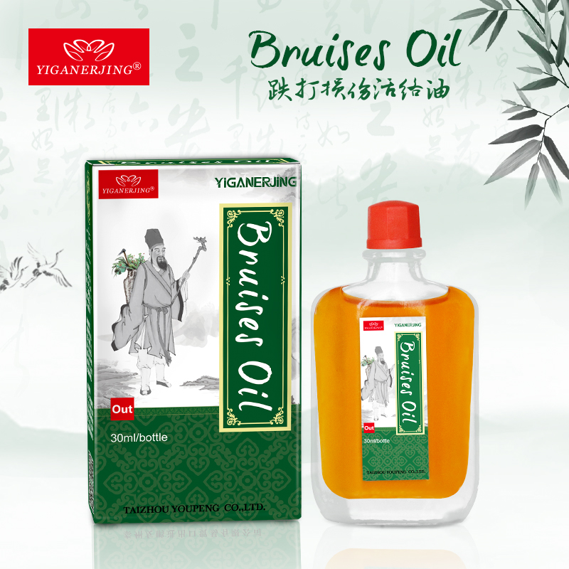 Bruises Oil Chinese Medicine Arthritis Rheumatism Myalgia Cervical Spondylopathy Treatment Joint Pain Privet Balm Liquid Smoke