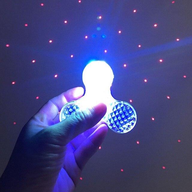 Bluetooth Speaker LED Lichtgevende EDC Hand Spinner Muziek en ...