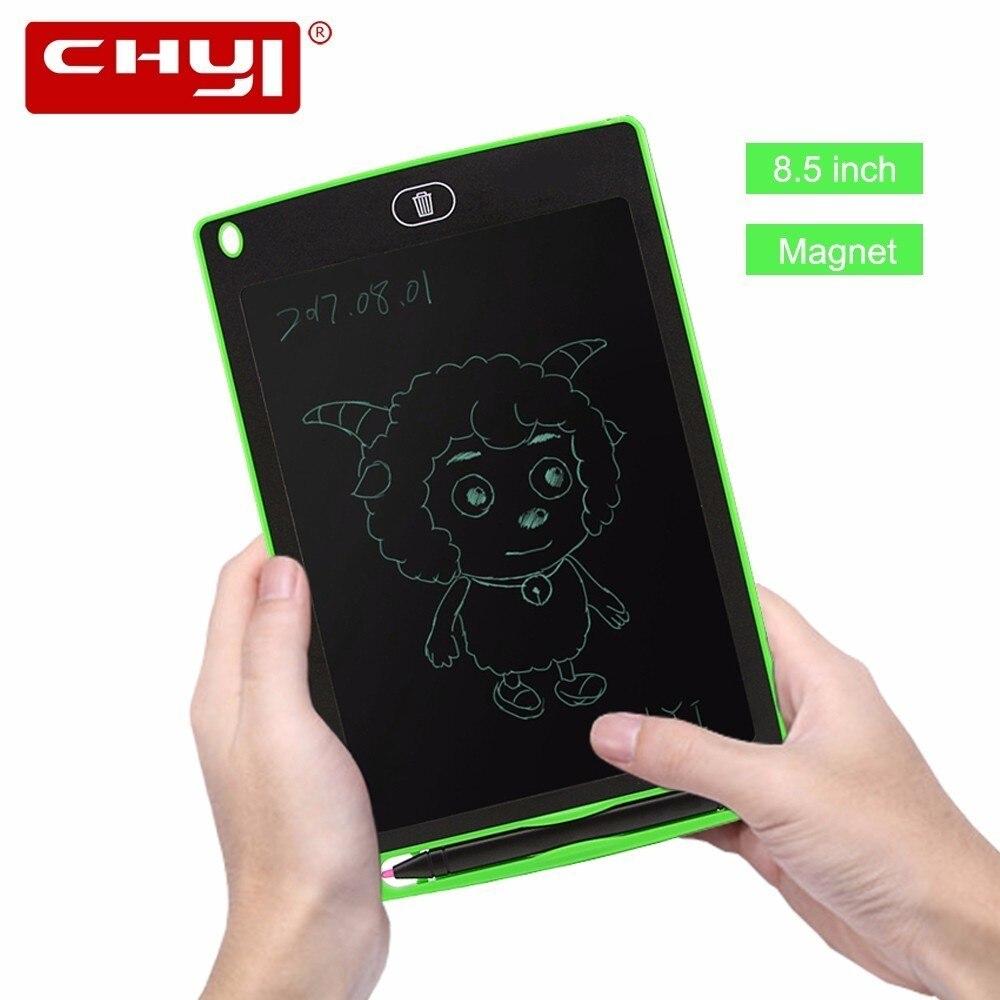 Chuyi 8.5 дюймов ЖК-дисплей Доска для записей рисунок Планшеты безбумажной цифровой блокнот переписан Pad для нарисовать Памятка напомнить сооб...