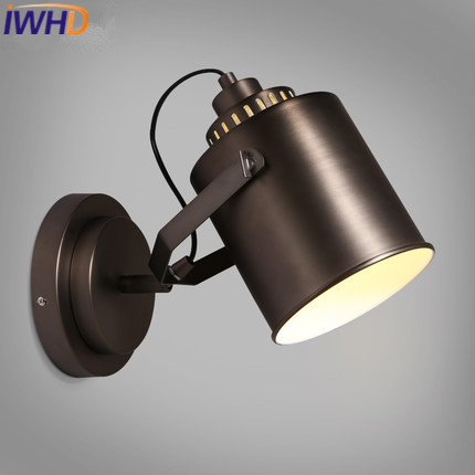 Strict Iwhd Industrial Vintage Wall Lamp Led Angle Adjustable Iron Arm Sconce Wall Light Up Down Retro Stair Wanglamp Home Lighting 100% Original Led Lamps