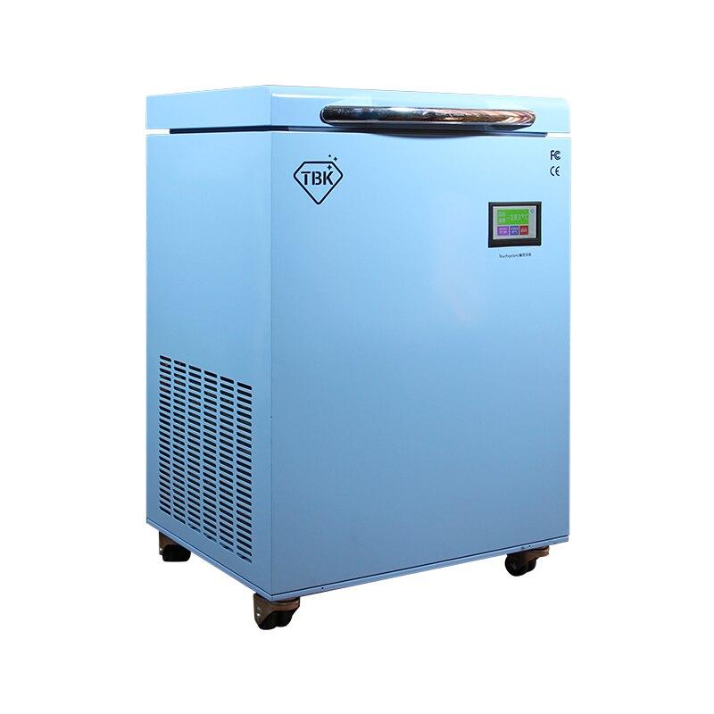 -190C LCD máquina de congelación TBK-588 congelados separador de instrumentos pantalla táctil LCD máquina de separación para reparación de teléfonos móviles