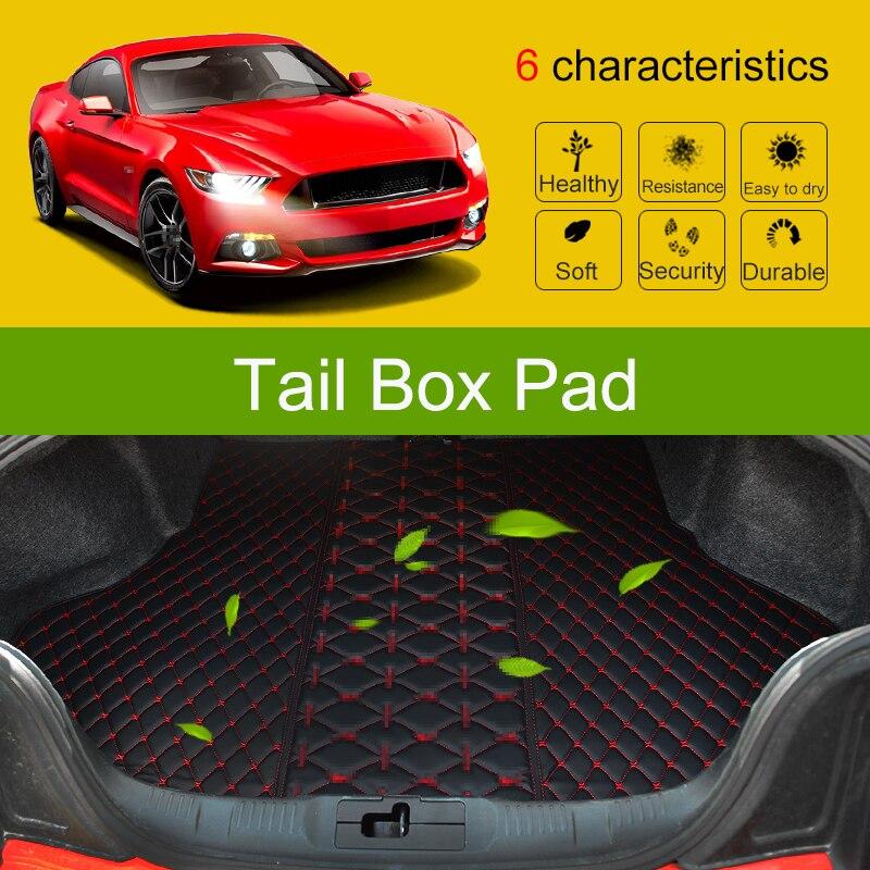QHCP автомобильный полный багажник коврик высокого качества кожаный грузовой лайнер автомобильный загрузочный пол ковры автомобильный Стай...