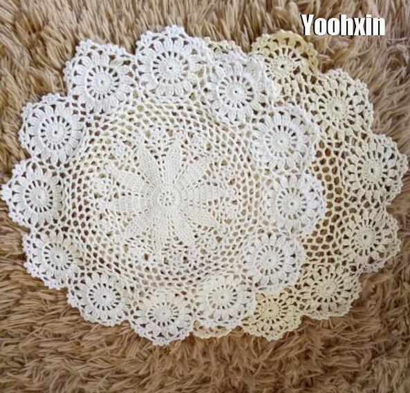 Perfecto Crochet Placemat Patterns Adorno - Ideas de Patrones de ...