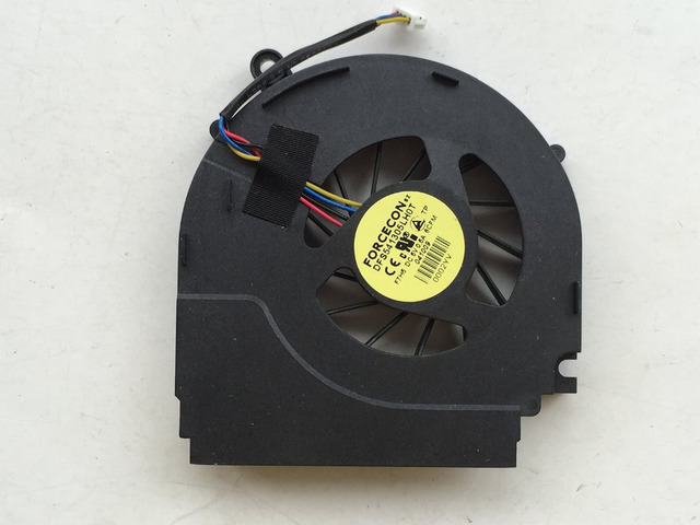 Atacado new cpu fan para dell studio 1535 1536 1537 1555 1556 fan w956j portátil dfs541305lh0t