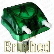 800 мл/мин., 12Vdc перистальтический насос с прозрачный зеленый Exchangeable напор насоса и FDA PharMed BPT перистальтического трубки