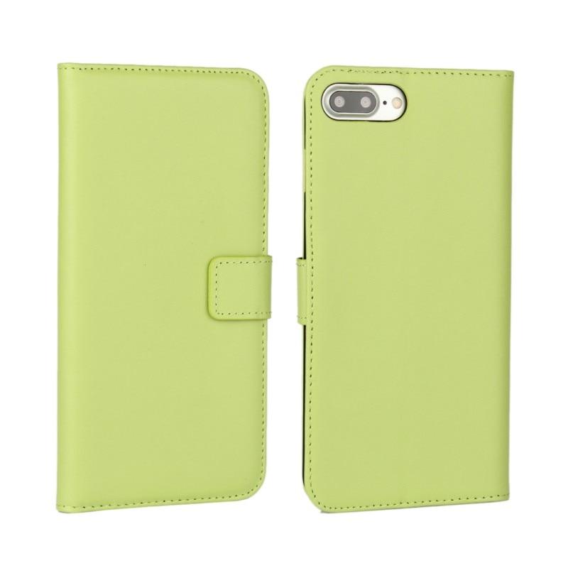 Dompet kulit asli, Kasus Flip Cover untuk iPhone 7/7 Plus / 6 s Plus - Aksesori dan suku cadang ponsel - Foto 4