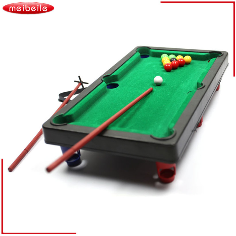 High Quality Sports Game Mini Pool Billiards Table Game Baby Toy Kids Table Board Games  Ball Gift TOY