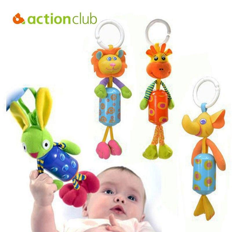 Actionclu Cochecito de Bebé de Juguete Móvil Del Bebé Educativo Cama Coche Colga