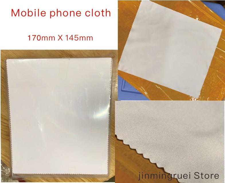 1 Caja De 100 Piezas Del Teléfono Móvil Paño De Tela De Paño De Limpieza De Pantalla Del Teléfono Móvil Limpio