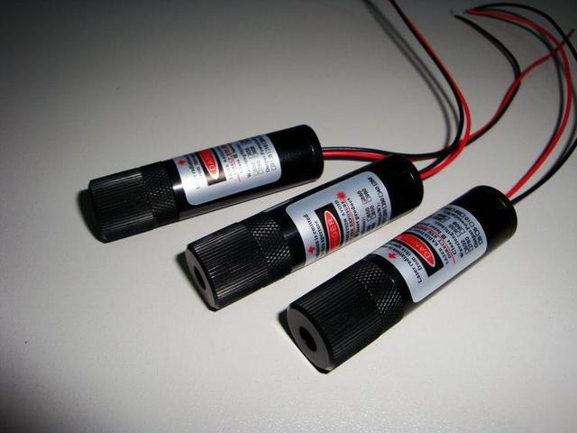 100mW 405nm Violet Purple Blue Laser Module Focused Line M405L100-3-1670
