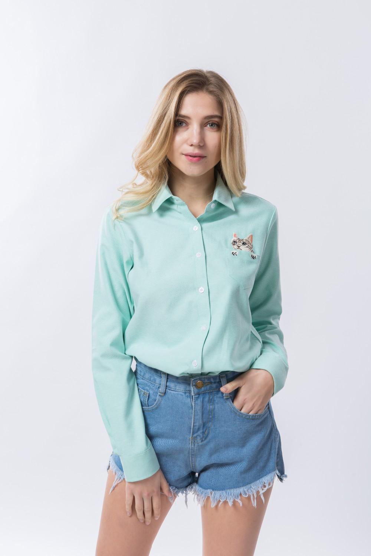HTB1iFv3OVXXXXcYXXXXq6xXFXXXI - Women Spring Shirt Turn-Down Collar Ladies Blouses Long-Sleeve
