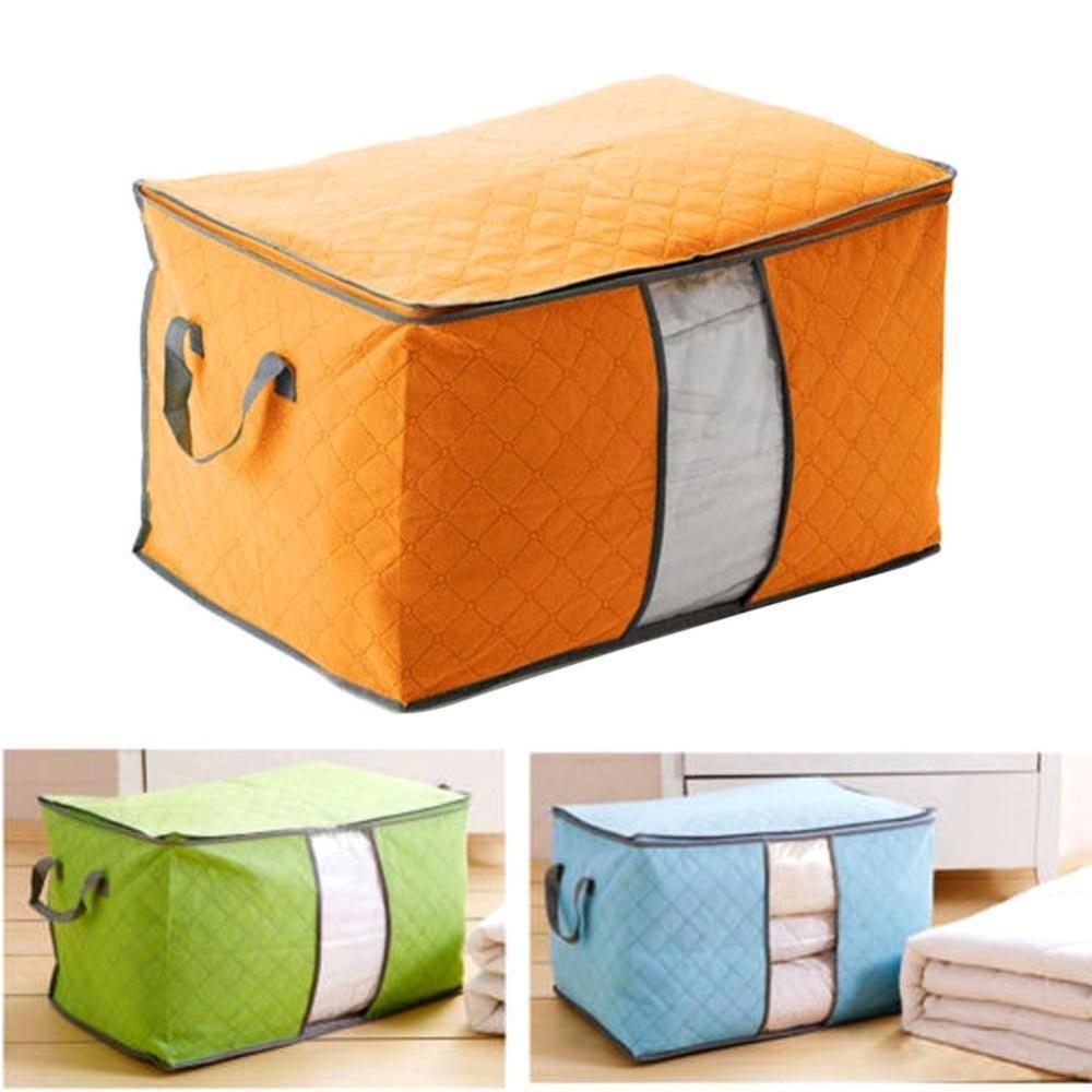 Underbed Storage Bag Clothes Blanket Quilt Closet Sweater Organizer Box Pouch US
