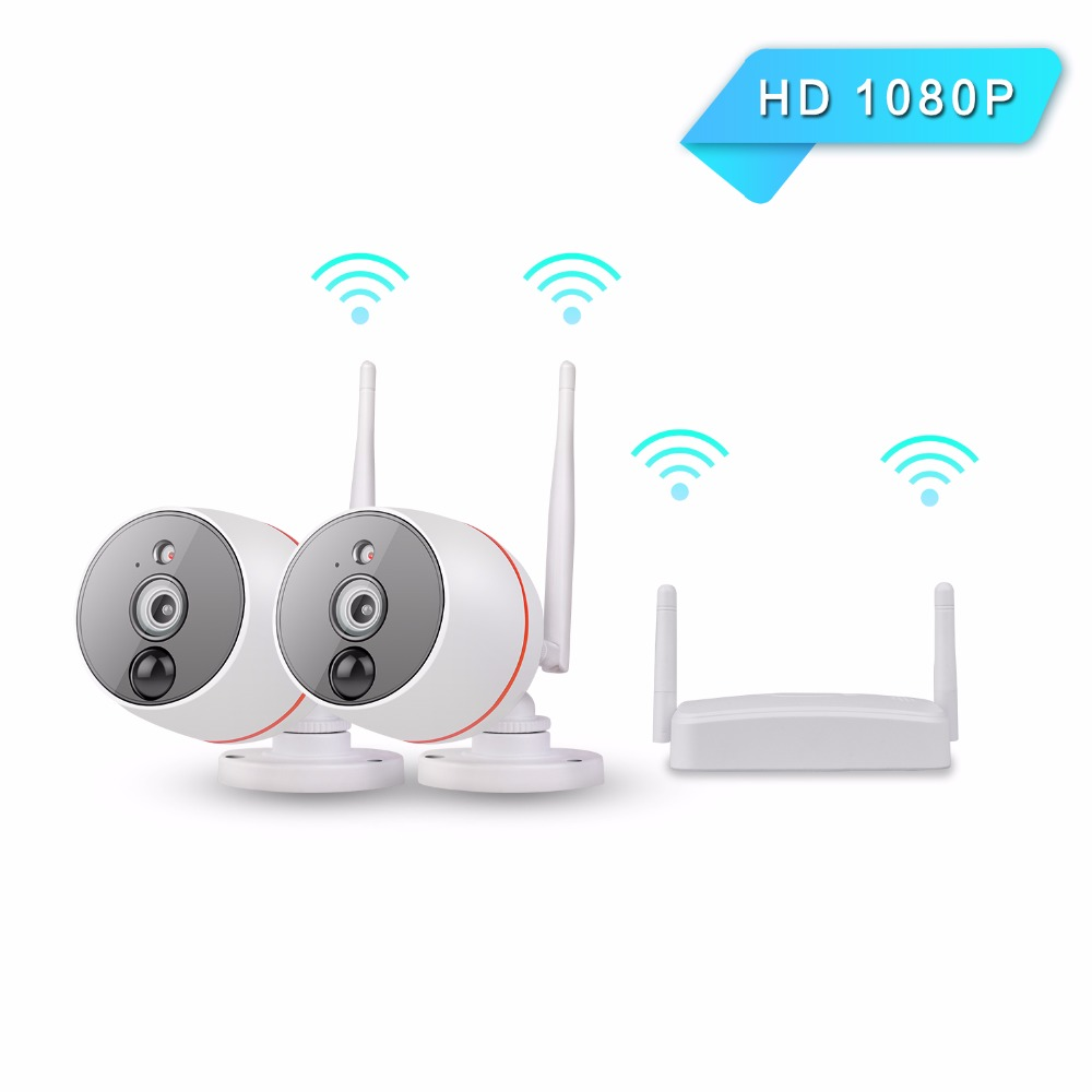New Wifi IP Home Security CCTV Camera 2.0MP 1080P CMOS Outdoor based PIR Heat Motion detection Smart Alarm with 6 IR led light ...