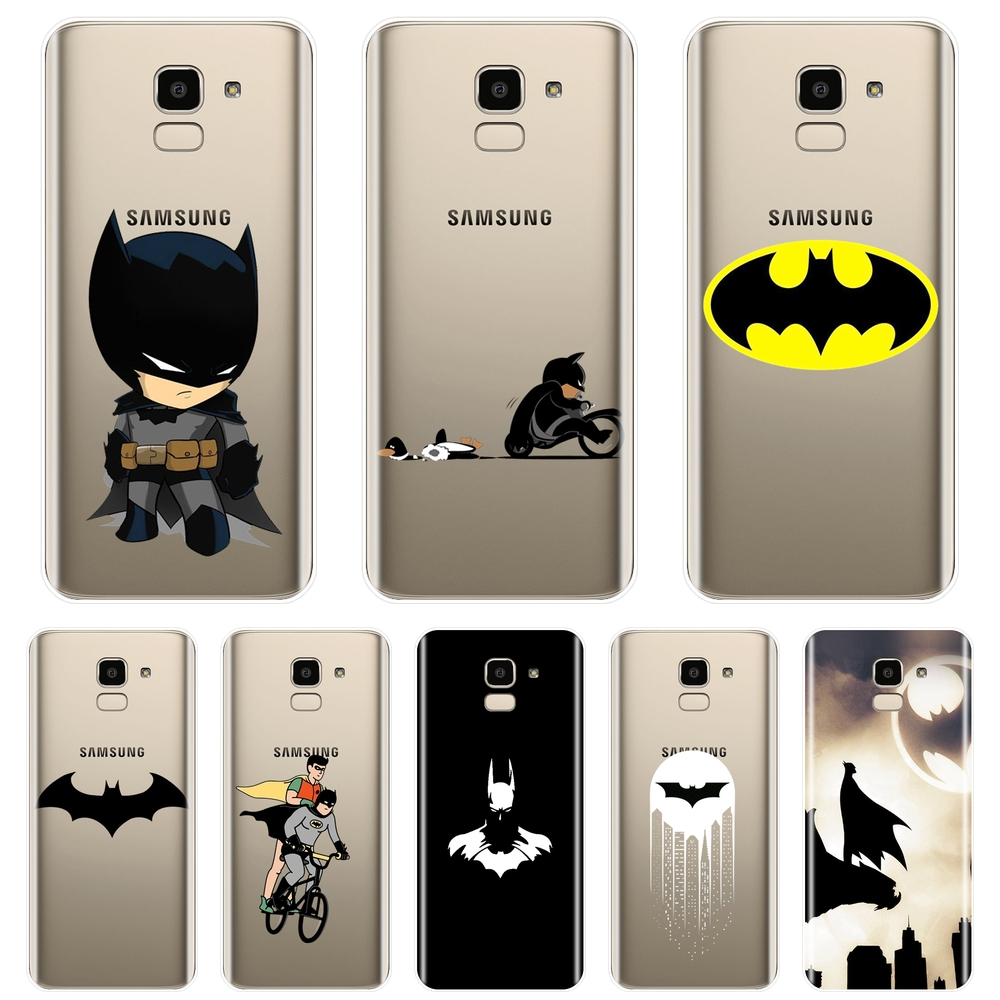 Funny Marvel Batman Phone Case Silicone For Samsung Galaxy J2 J5 J7 Prime J3 J5 J7 2015 2016 2017 J4 J6 J8 Plus Soft Back Cover image