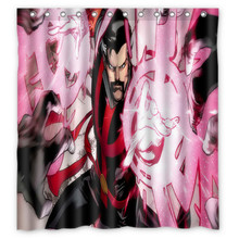 66x72 Doctor Strange Shower Curtain 72x72 Inch Dragon Ball Z Bleach Fairy Tail Naruto Together