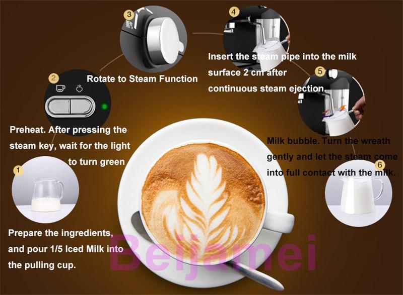 electric coffee making