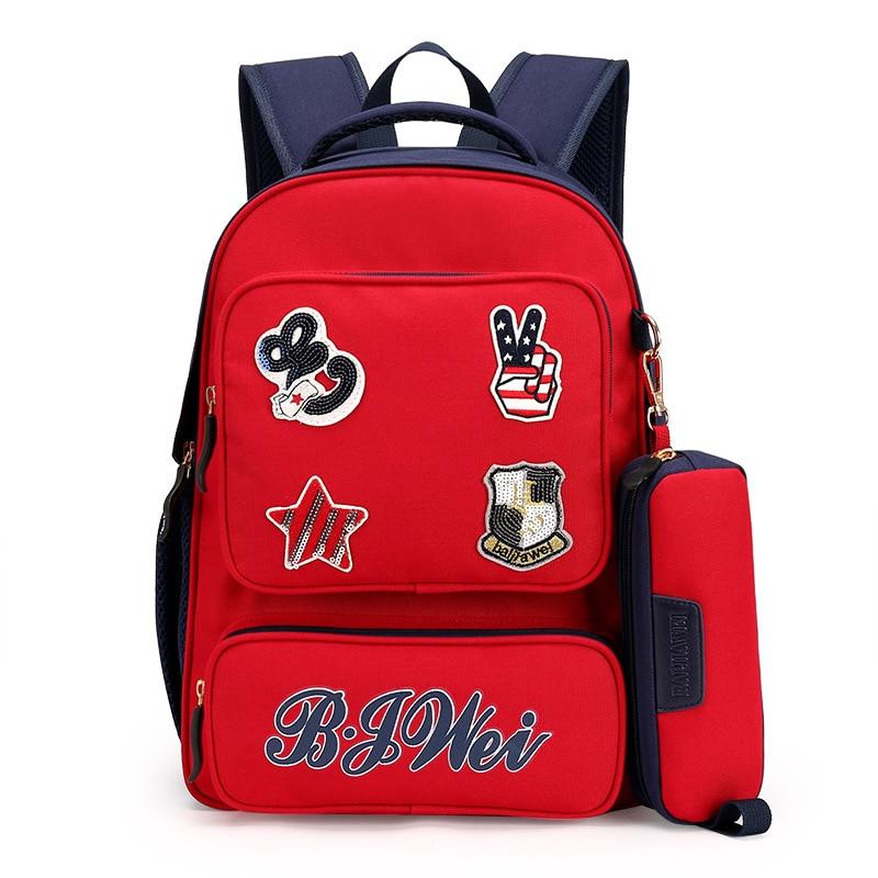 baijiawei 2017 novas crianças escola School Bags : School Bag