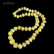 лучшая цена Saleof amber legend of the French natural amber multi - treasure abacus beads necklace multi - functional models short paragraph