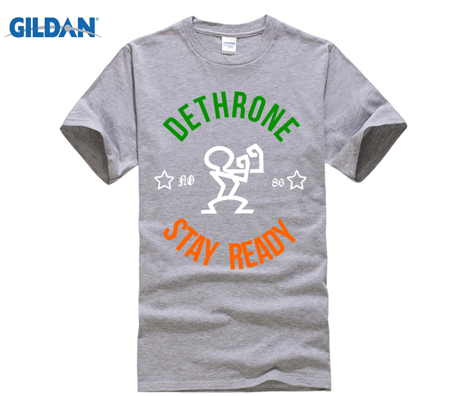 Dethrone Conor Mcgregor Dublin Walk Out 2018 Short Male T Shirt Summer Printed T Shirt Mens Fashion Cotton Mens Xs Tee Shirt in T Shirts from Men 39 s Clothing