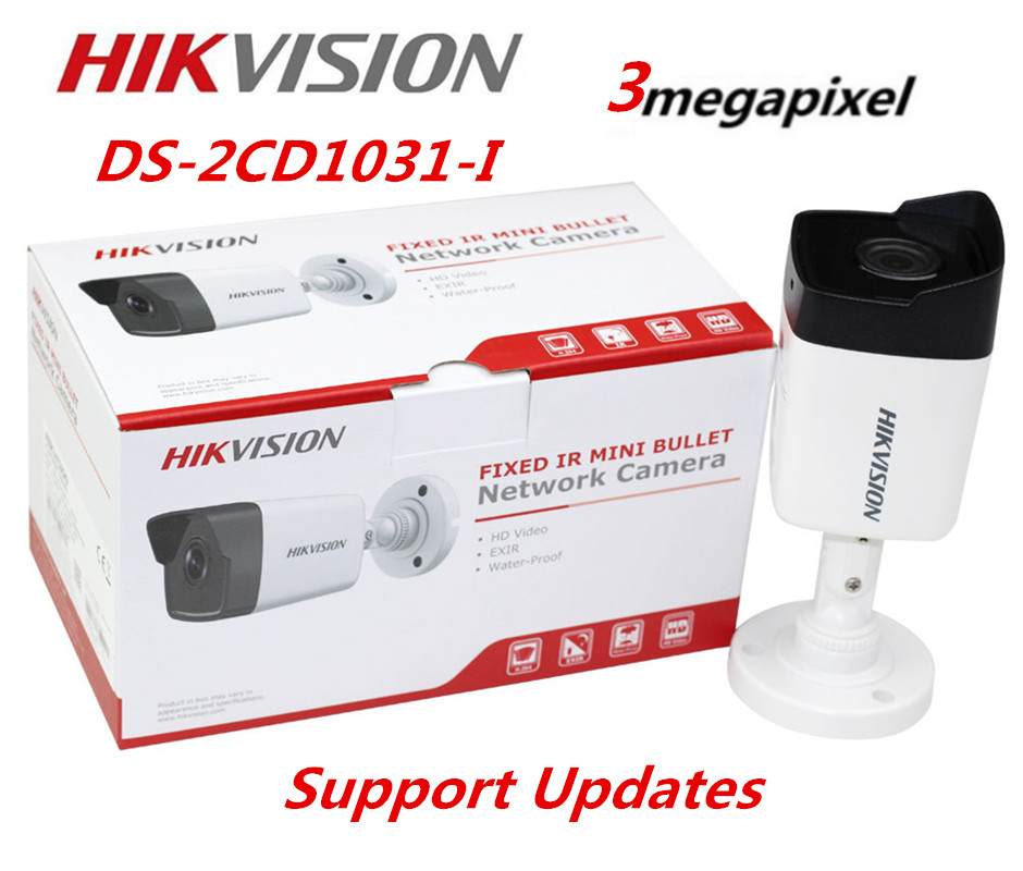 Hikvision DS-2CD1031-I 3MP Mini Bullet IP Camera POE Replace DS-2CD2032F-I DS-2CD2035F-I  Hikvision Camera cd диск fleetwood mac rumours 2 cd