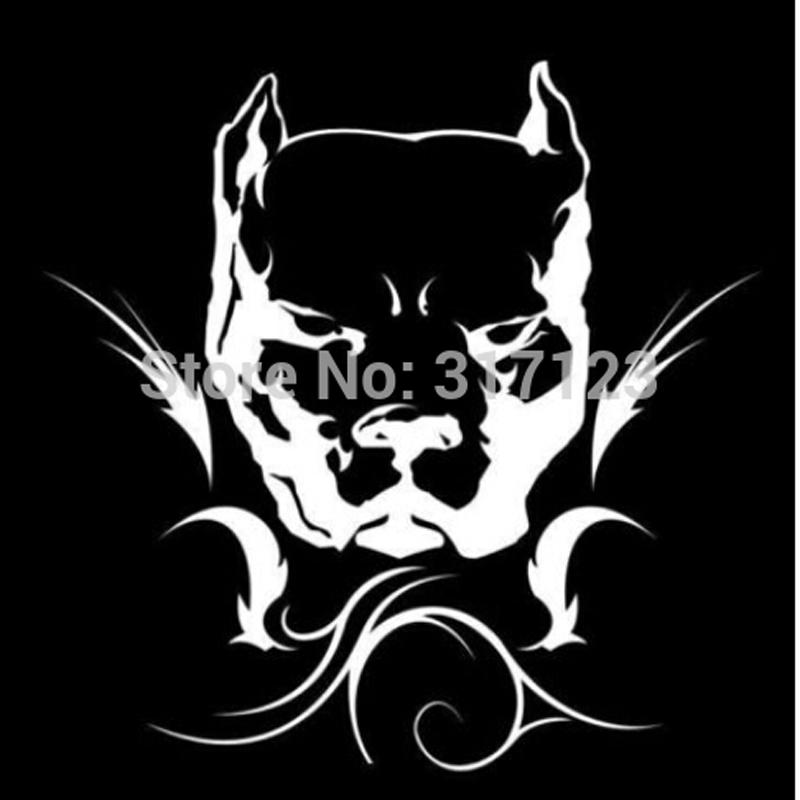50 Pieces Lot Wholesale Pit Bull Tribal Pitbull Decal