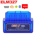 HOT !!! Super Mini ELM327 Bluetooth V2.1 ELM 327 OBD2 OBDII can bus Car Scan Tool works on Android Support All OBD2 Protocols