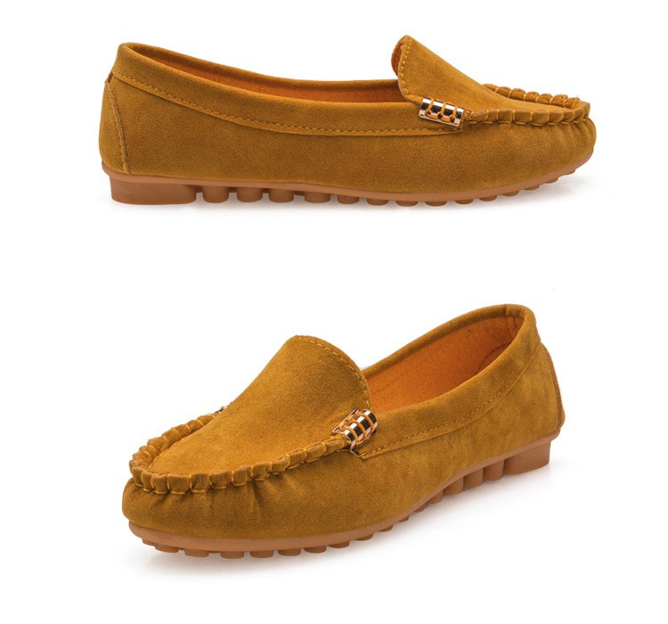 Hot Sale 2016 Summer Woman Flats New Fashion Pure Color Wild Concise Flat Casual Shoes Round Toe Comfortable Female Shoes DT81 (11)