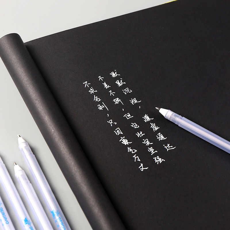 0.7mm 화이트 잉크 하이라이트 펜 웨딩 펜 사진 앨범에 대 한 Diy 일기 Scrapbooking 파티 생일 베이비 샤워 장식 펜