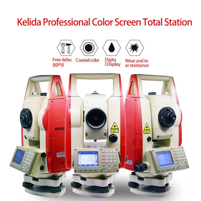 NOUVEAU Kolida KTS-462R6L couleur écran réflecteur station totale 600 mètres